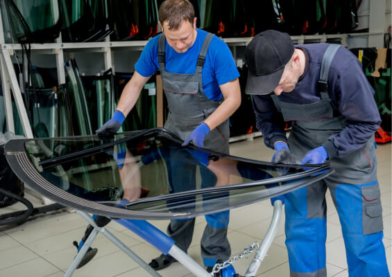Auto Glass Repair Section Image